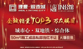 理想银泰城IN公馆-全城销量TOP3万众瞩目