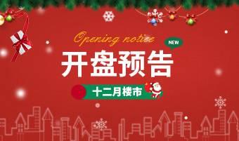 杭州12月开盘预告汇总