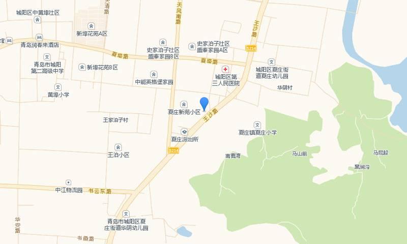 磊鑫河畔阳光交通图
