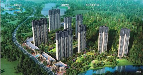 在广州总要有点靠山的 时代天启花园山水相依