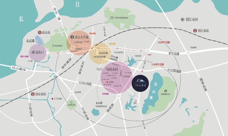 碧桂园龙山源著交通图