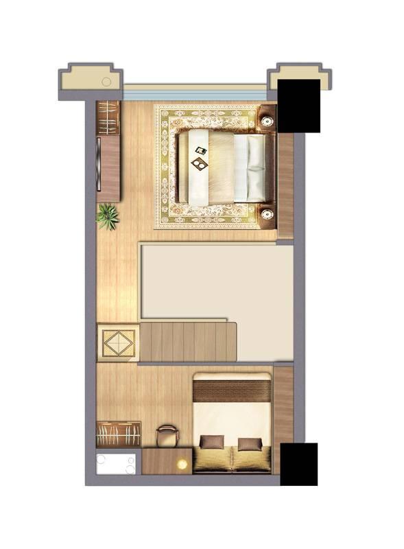 创客空间B户型二层