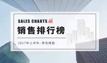 2017年青岛上半年销售排行榜