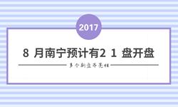 8月南宁预计21盘开盘 多个新盘齐亮相