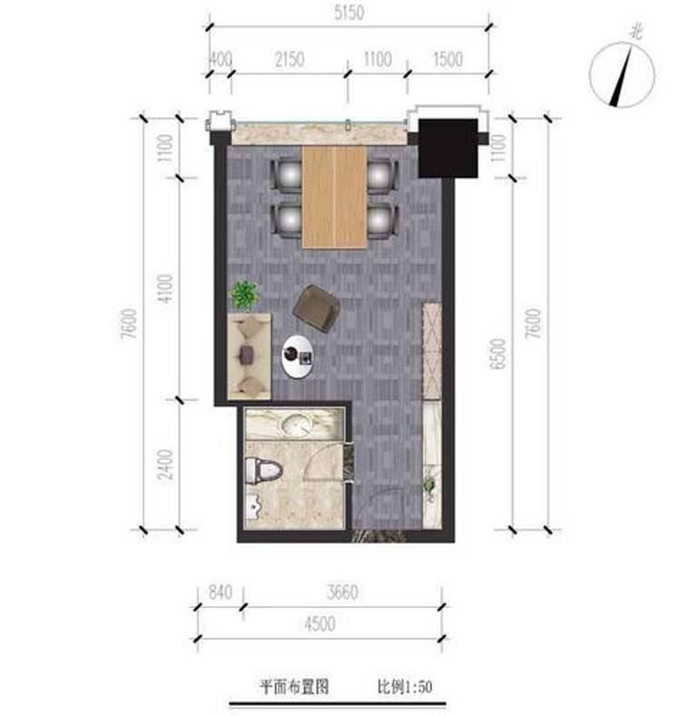 中泰南湖大厦A1户型