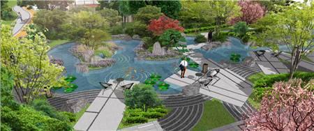园区景观水系