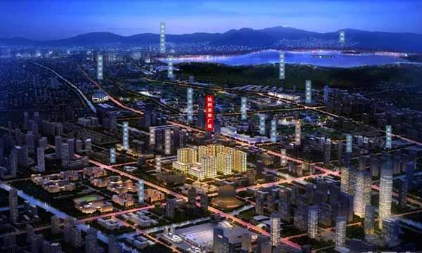 杭州未来广场交通图