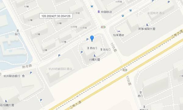 滨江九号交通图