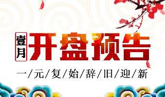 上海1月开盘预告