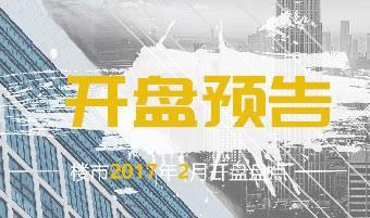 南宁2017年2月开盘预告