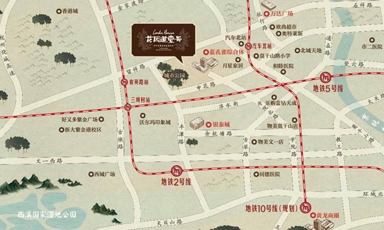 三江花园道壹号交通图