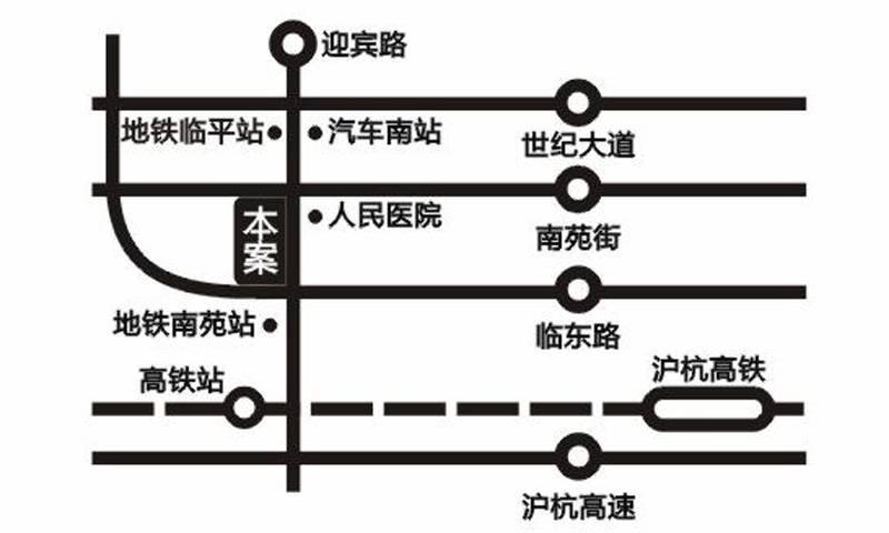 美莱国际中心交通图