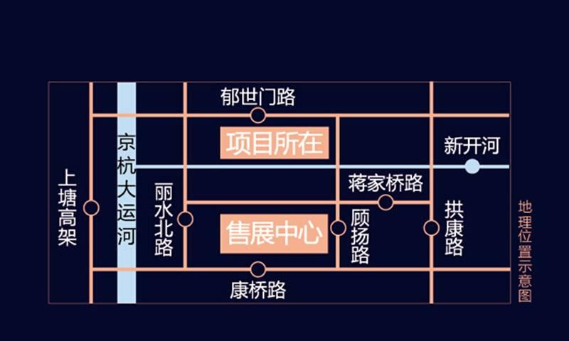 大家运河之星交通图