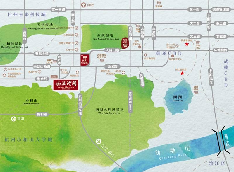 农房尚海湾交通图