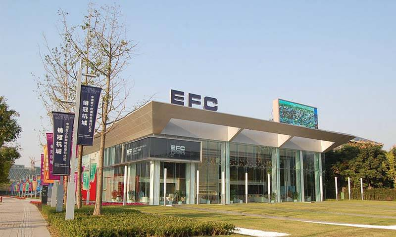 EFC欧美金融城实景图