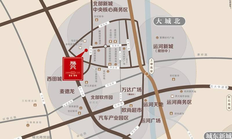 赞成赞城交通图