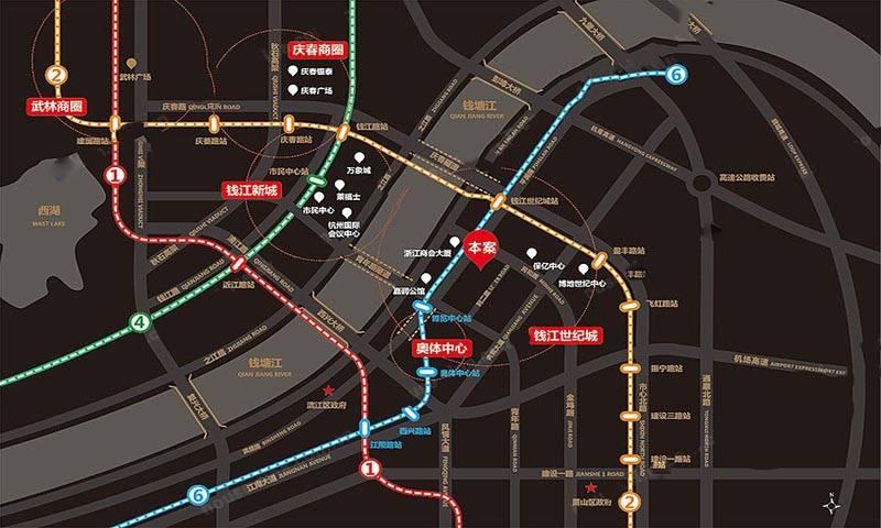 御金台国际中心交通图