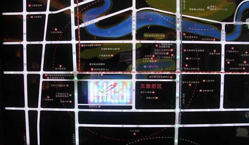 楼盘交通图