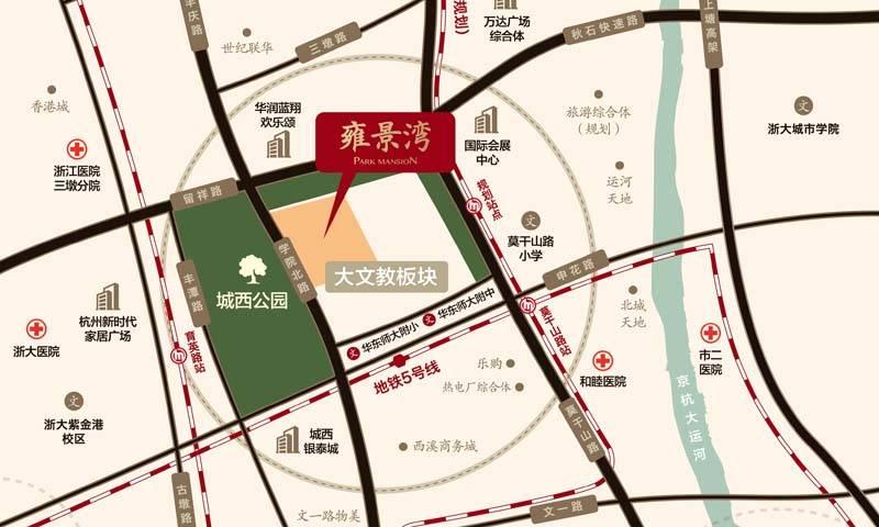 招商九龙仓学院北麓交通图