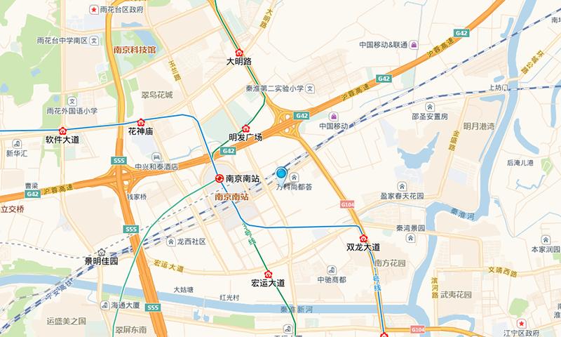 万科红交通图