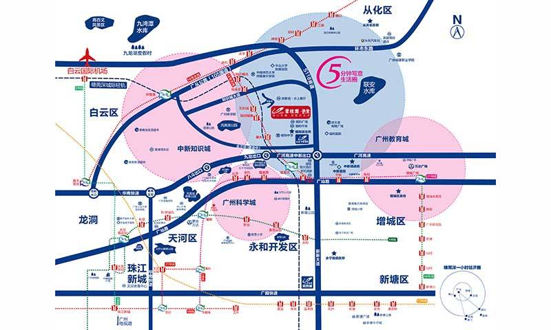 碧桂园映象交通图