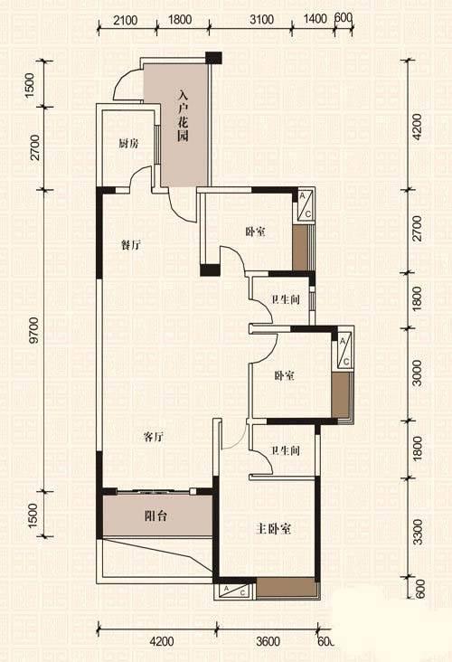 B2-5户型