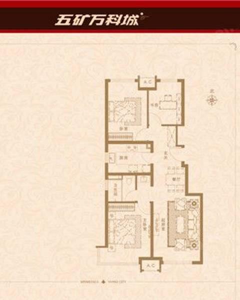 楼盘户型图