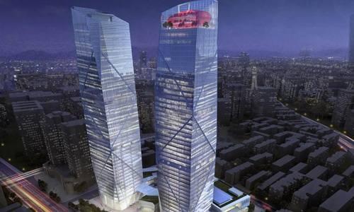 武汉环贸中心效果图