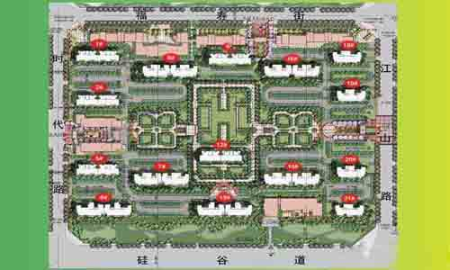 孔雀城美丽园美丽汇效果图