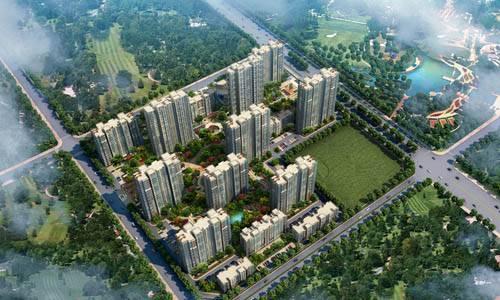 中国铁建国际城8号效果图
