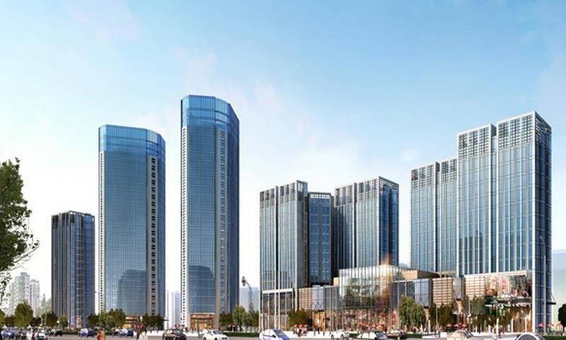 中国西部文化城常青藤社区效果图
