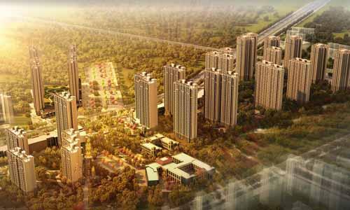 莱安城效果图