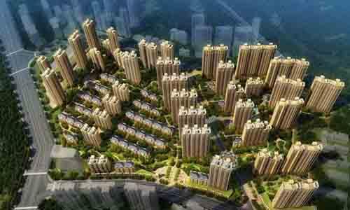 中国铁建万科翡翠国际效果图